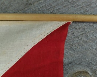 Vintage Nautical flag