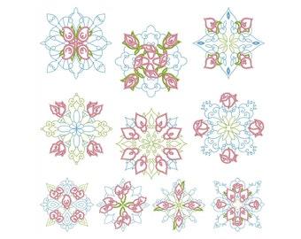 QUILT BLOCKS 1 - Machine Embroidery - Instant Digital Download