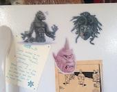 Ray Harryhausen Creature Magnet 3 Pack