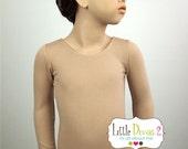 Nude Leotard (Child) Long Sleeve Leotard