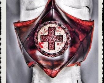 Leather mask - Nurse -