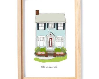 Custom Illustration - Home