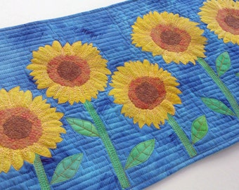 Sunflower Quilt Pattern PDF