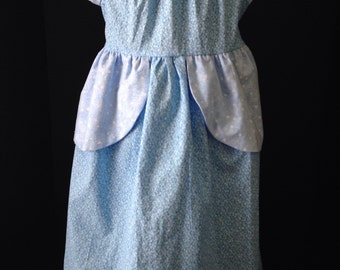 Princess Cinderella Inspired Boutique Peasant Dress