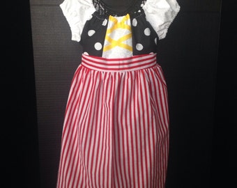 Pirate Boutique Peasant Dress
