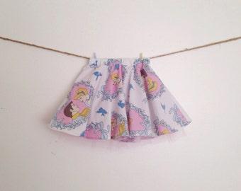 Made to order kids Cinderella circle skirt