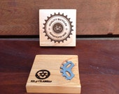 Bottle Opener & Coaster in ONE (single coaster, your design choice)