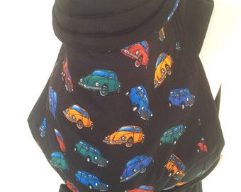 MEI TAI Baby Carrier / Sling / Reversible/ Beetle in straight cut model