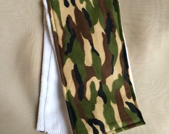 Traditional Camouflage Burp Cloth