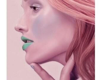8x10 Illustration Print - 'Primrose'