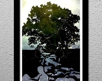 Shawshank Redemption - Get Busy Living - Original Art Poster