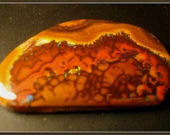 Boulder Opal cabochon,  53x35x5 mm, 82.70 ct