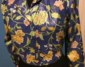 Vintage Jacket. Peppermill Jacket. Vintage Spring Jacket.
