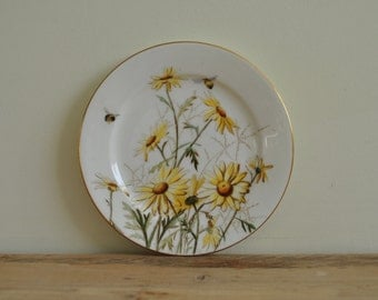 Vintage china side plate RARE George Jones & Sons Crescent Ware - 826 - Pyrethrum