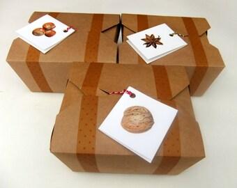Gift Box Orange Geranium Hand / Foot Care Natural Soap Pumice Brush Hand & Foot Balm Men Women Gardening Christmas Gift