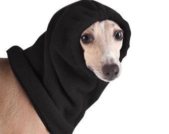 ITALIAN GREYHOUND Dog Hood, Dog Hat, Snood