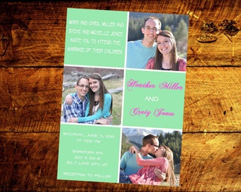 wedding invitations, wedding invites, unique wedding invitations, printable wedding invitations, custom wedding invitations