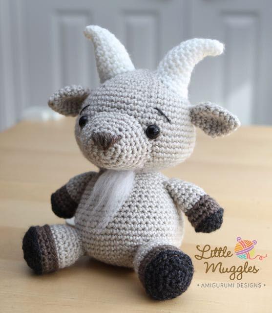 Crochet Amigurumi Goat
