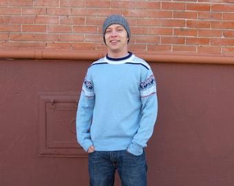 SALE 30% OFF *Snow Benny Men's Vintage  Christmas  Ski Sweater