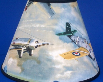 Fighter Planes Lamp Shade