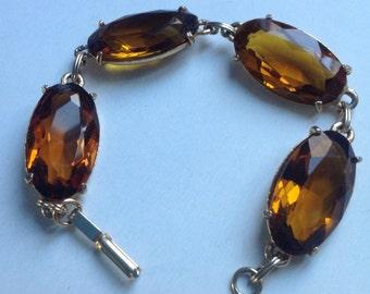 Amber glass bracelet  VJSE