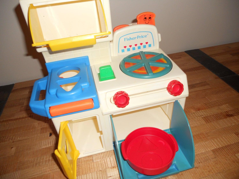 Fisher Price 1990 Pretend Play Kitchen