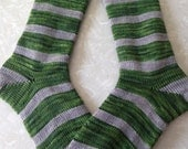 Slytherin House Socks : Serpent Pride Quidditch Wool Socks - Custom Size