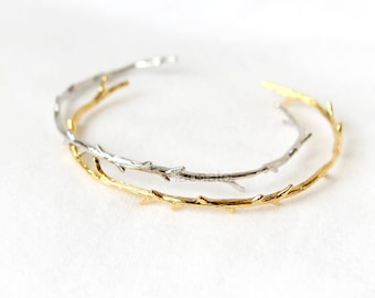 Branch Bangle / Twig bracelet, choose your color