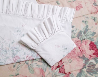 Popular items for ruffle pillow on Etsy