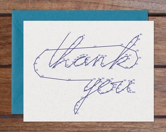 Connect the Dots: Thank You Set (8 Cards)