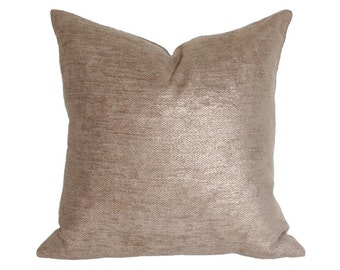 Glimmer Gold Pillow Cover - Made-to-Order