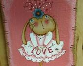 Love Bunny canvas