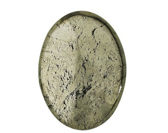 Oval 40.0 x 30.0mm Pyrite Cabochon Stone                          CC-20801