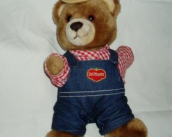 DelMonte Brawny Bear Doll Stuffed Animal