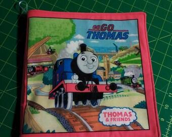Cloth Book, Thomas the Train, Ready to Ship
