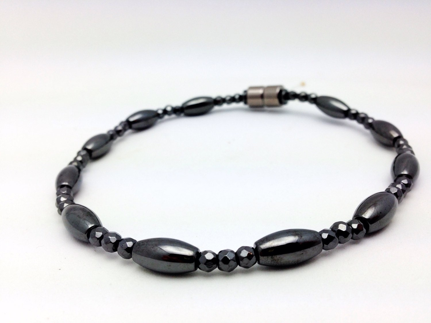 stretch black with anklet product seashells magnetic shell