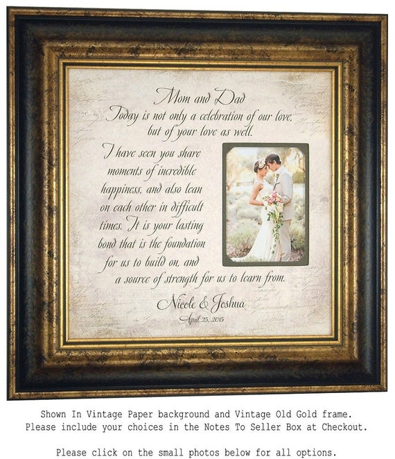 Wedding Present Photo Frame : ... Gifts Guest Books Portraits & Frames Wedding Favors All Gifts