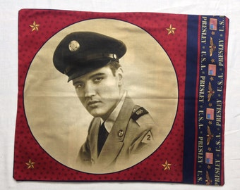 Elvis in the Army Bandana