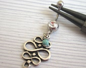 Belly Button Ring - Navel Ring - Belly Ring - Belly Button Jewelry - Navel Jewelry - Body Jewelry - Body Piercing - Navel Piercing