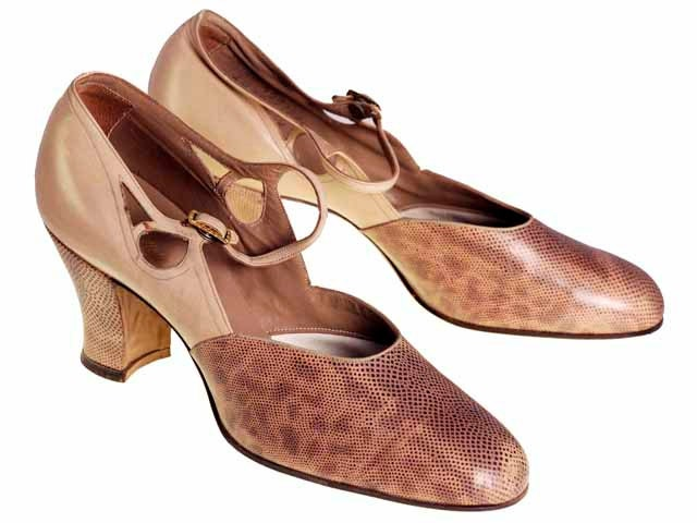 vintage 1920s womens shoes snakeskin by bestvintageever