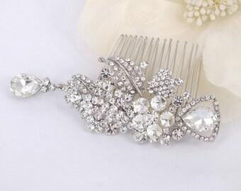 Galeria - Style Rhinestone Crystals Wedding  Comb