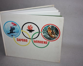 1974 Olympic Games book - Freaky vintage pictures