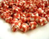 100pcs Orange Lucky Stars, Orange Origami Lucky Star, Origami Stars, Handmade, Orange Paper Goods, Orange Paper 170