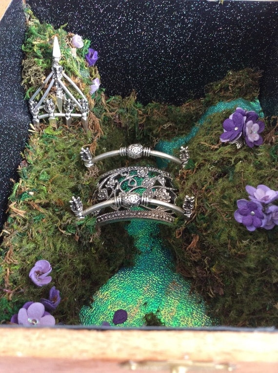 Fairy garden the waterfall free shipping ooak for Fairy garden waterfall