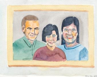 Family Portrait - Painting