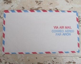 3 Vintage Air Mail Envelopes