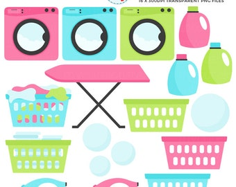 Clip Art Laundry Clip Art laundry clipart etsy set clip art of washing machine detergent ironing personal use small commercial instant download