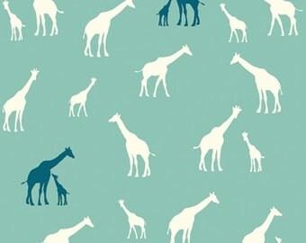 Giraffe Fam Pool Serengeti JayCyn Birch Organic Fabrics Wildlife Outdoors Family All Natural