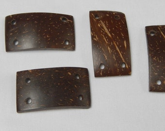 Brown Wood Buttons/Craft (No Shipping Cost)