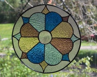 Stained glass in pastel